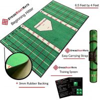 Beginning Hitter Amazon Main Photo Batting Mat with Gridlines