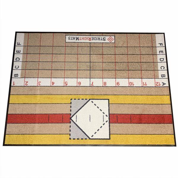 Advanced-Hitter-Single-Box-Baseball-_-Softball-Training-Mat-Resersed_StrideRightMats