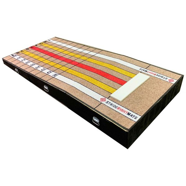 Stride Right Mats Pitching Mound Side View Plus Pitching Mat