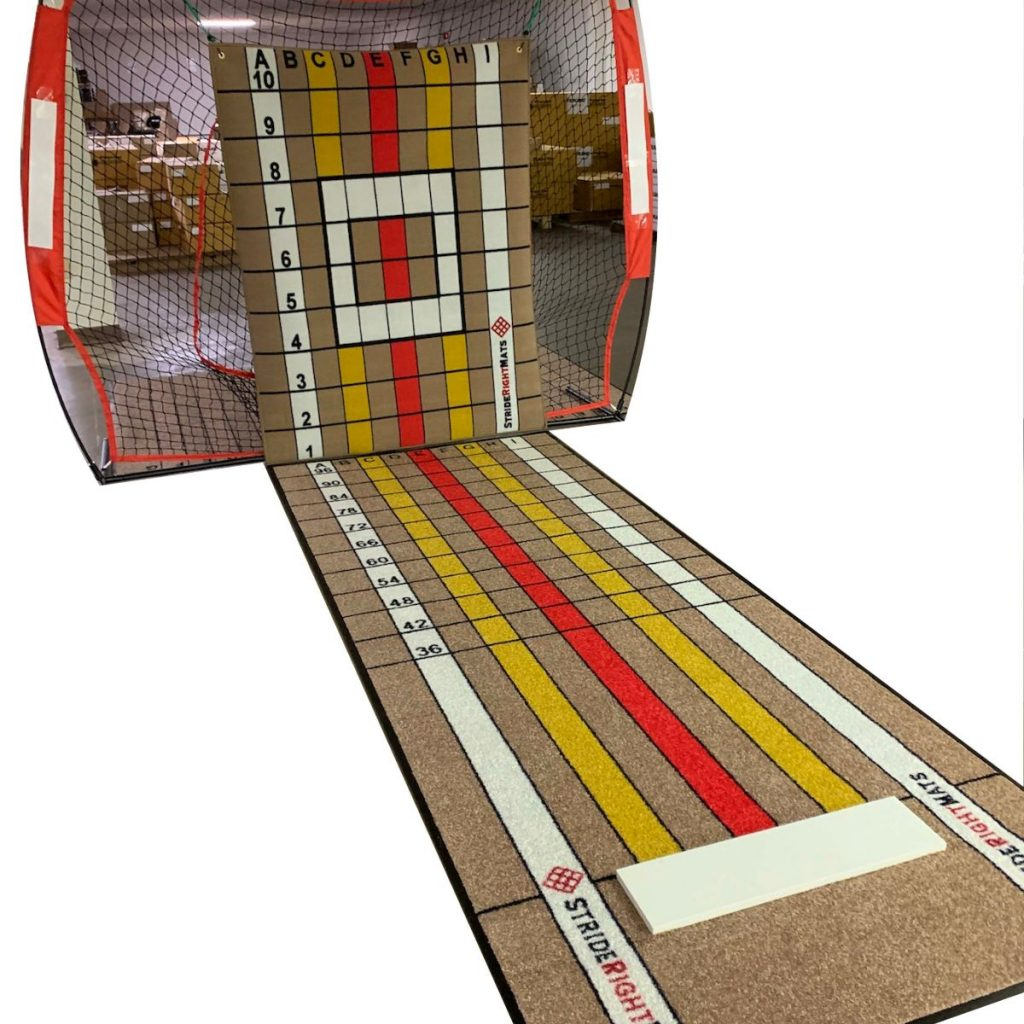 Stride Right Mats Pitching Target and Pitching Mat
